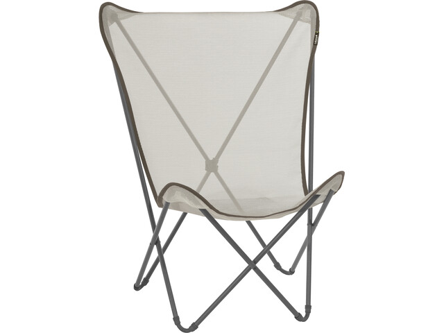 Lafuma Mobilier Maxi Pop Up Chaise pliante avec Cannage Phifertex, seigle